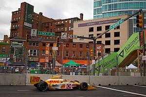IndyCar Andretti Autosport Baltimore qualifying report
