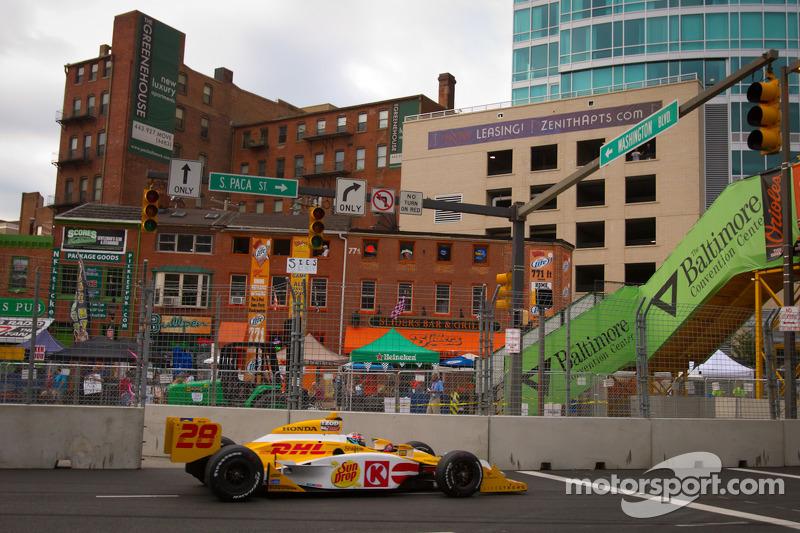 Andretti Autosport Baltimore qualifying report