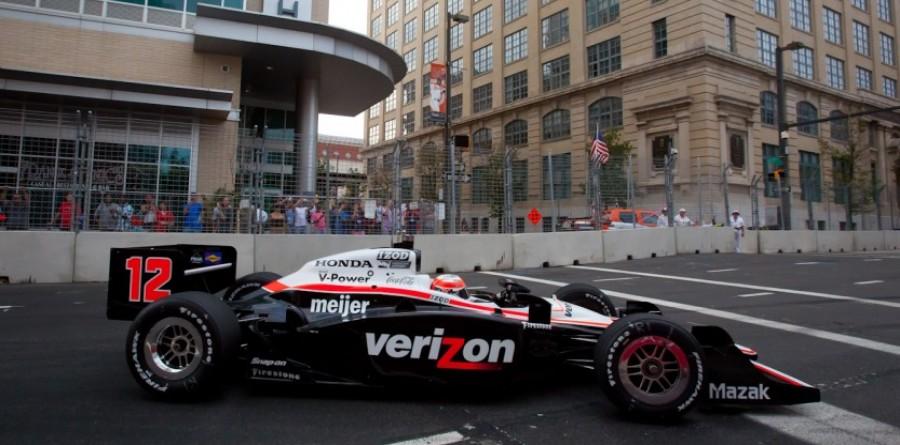 Team Penske Baltimore qualifying report