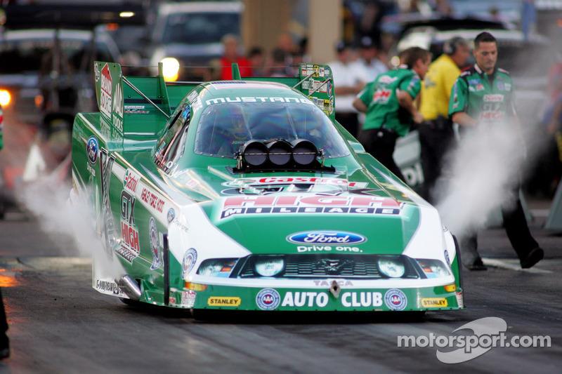 John Force Racing Indianapolis Sunday report