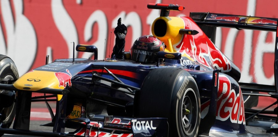 Vettel closes in on title with Italian GP win