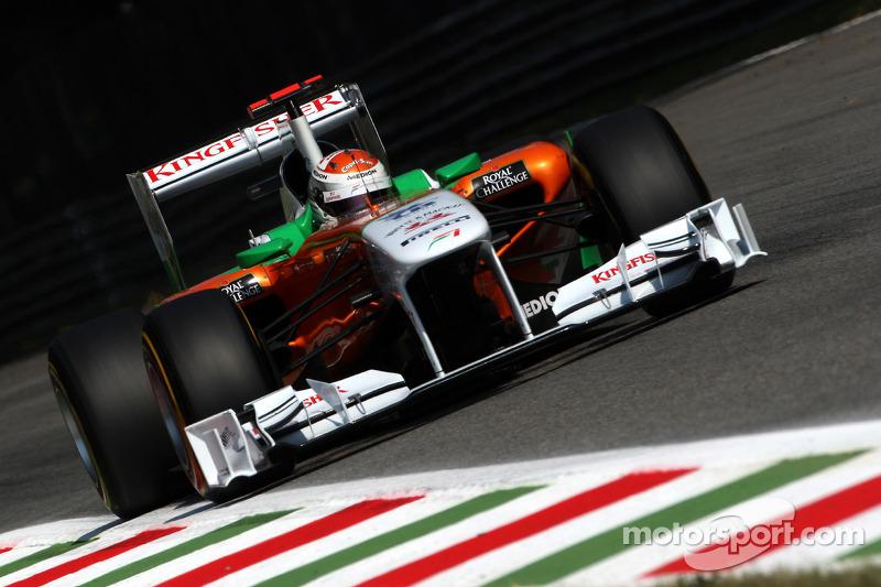 Force India Italian GP - Monza race report