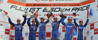 Super GT Zent Cerumo Lexus charges to Fuji GT victory