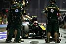 Team Lotus Singapore GP qualifying report