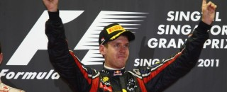Formula 1 Vettel victorious in Singapore GP mayhem