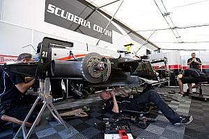 FIA F2 Scuderia Coloni set for Jerez test