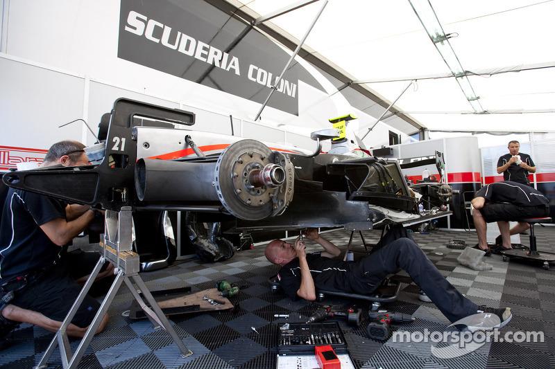 Scuderia Coloni set for Jerez test