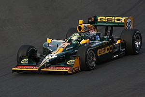 IndyCar KV Racing - Lotus ready for the oval at Kentucky