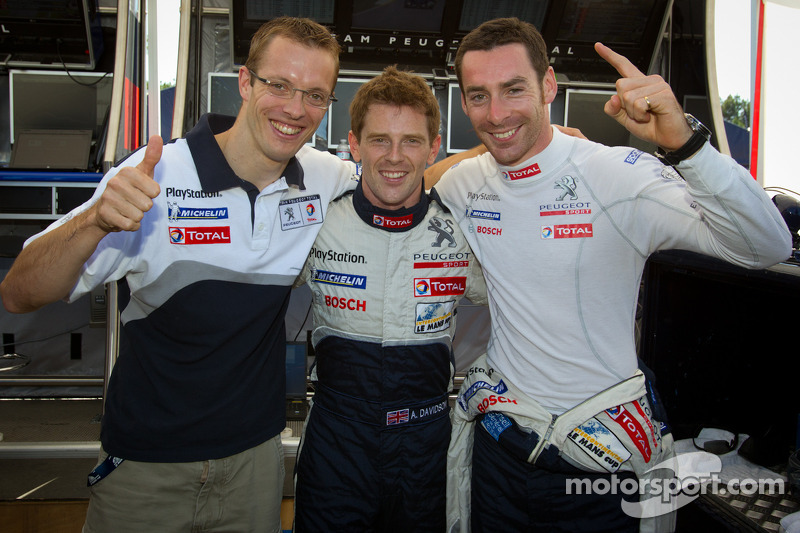 Peugeot on Petit Le Mans pole at ALMS season finale