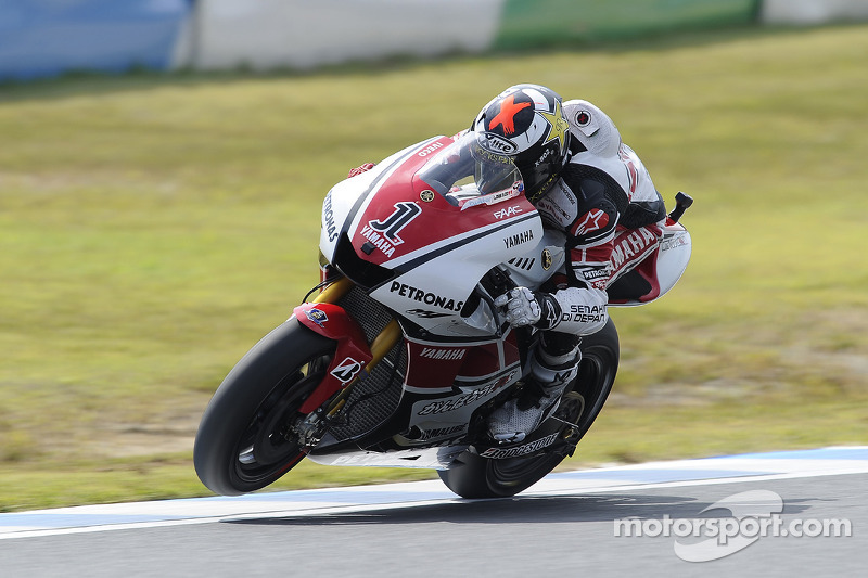 Yamaha's Lorenzo scores second at GP of Japan