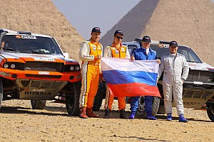 Cross-Country Rally Vladimir Vasiliev heads first day of Pharaons Rally