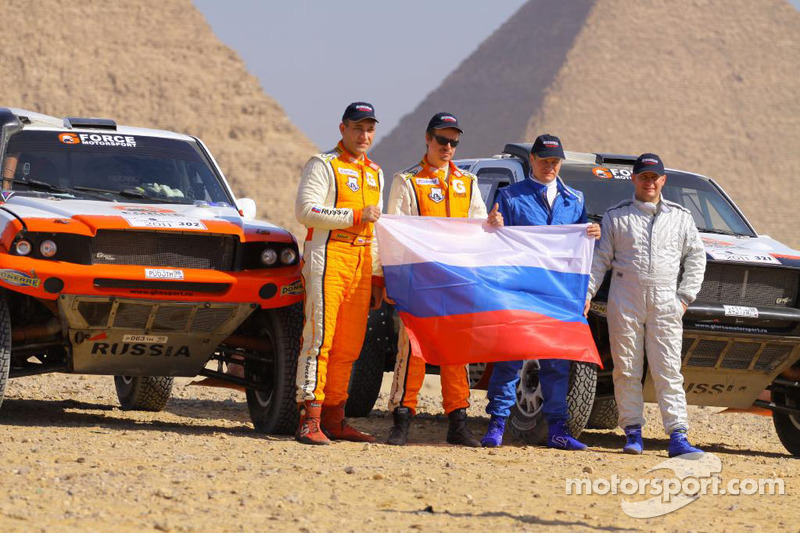 Vladimir Vasiliev heads first day of Pharaons Rally
