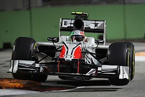 Formula 1 HRT looking for another step forwards during Japanese GP at Suzuka