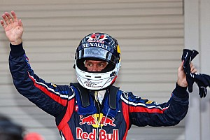 Formula 1 Button wins race, Vettel wins title