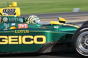 IndyCar KV Racing - Lotus Las Vegas Thursday report