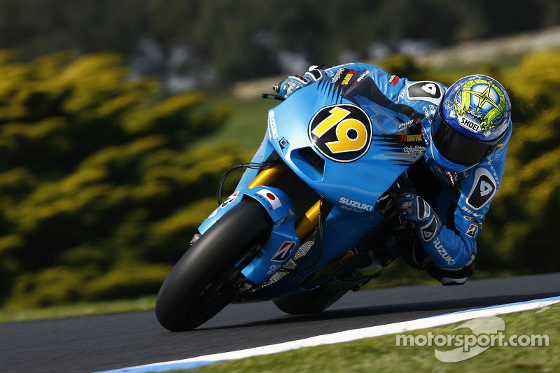 Suzuki Australian GP Friday practice report