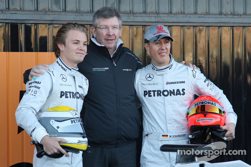 Rosberg overcame fitness weakness reveals Brawn
