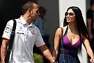 Hamilton splits with pop star girlfriend