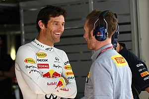 Formula 1 Webber 'not satisfied' with push for second place