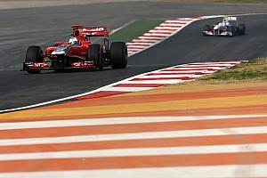 Formula 1 Marussia Virgin Indian GP race report