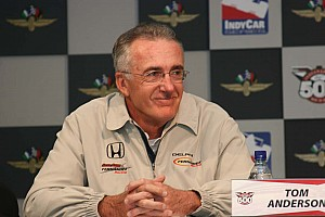 IndyCar RLL names Tom Anderson President of Racing Operations