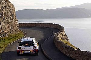 WRC Citroen Wales Rally GB leg 1 summary