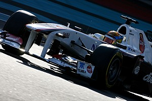 Formula 1 Sauber Abu Dhabi young driver test Wednesday report
