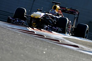 Formula 1 Red Bull Abu Dhabi young driver test Thursday report