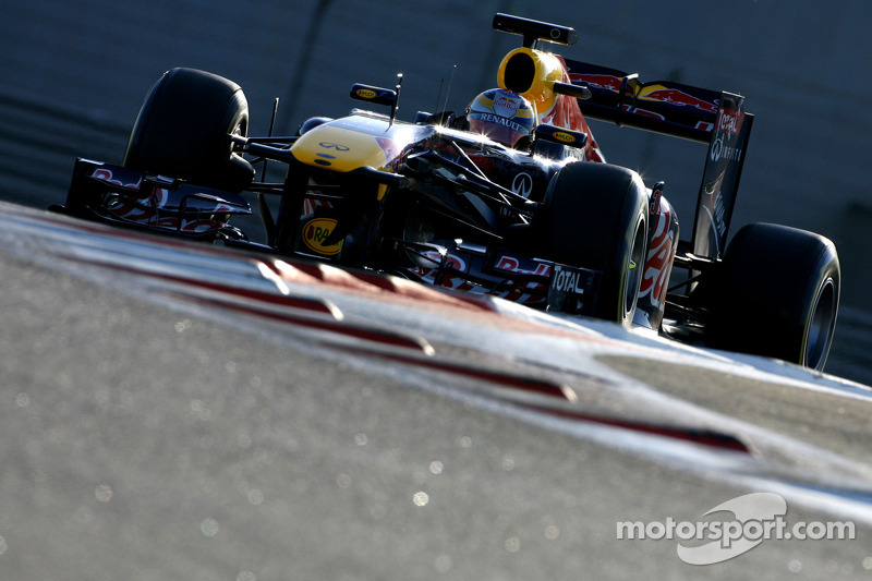 Red Bull Abu Dhabi young driver test Thursday report