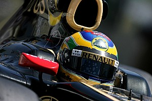 Formula 1 Lotus Renault Brazilian GP qualifying report
