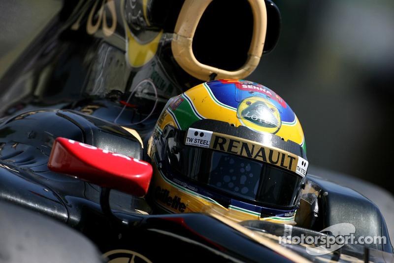 Lotus Renault Brazilian GP qualifying report