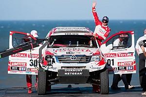 Dakar Toyota stage 1 report