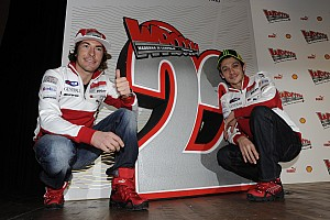 MotoGP Ducati riders get into gear for the upcoming 2012 season