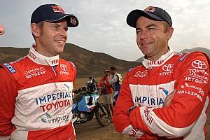 Dakar Toyota stage 14 report