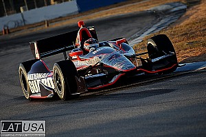 IndyCar Panther Racing interview: J.R. Hildebrand