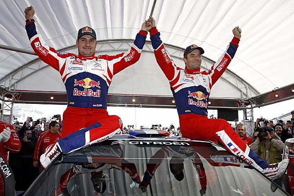 Loeb and Elena notched their sixth Monte Carlo Rally with bonus points