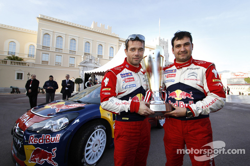 Citroën Monte Carlo Rally final summary