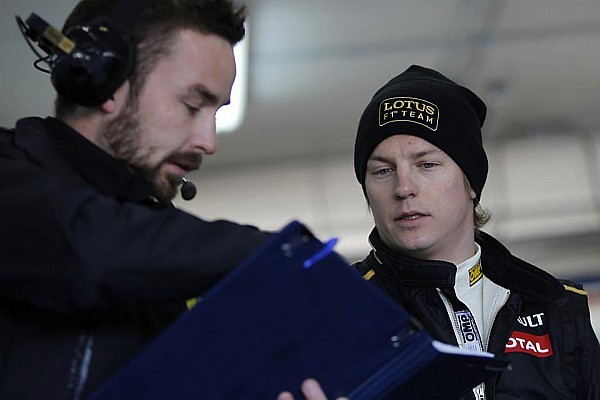 Raikkonen puts rally hobby on hold for Lotus