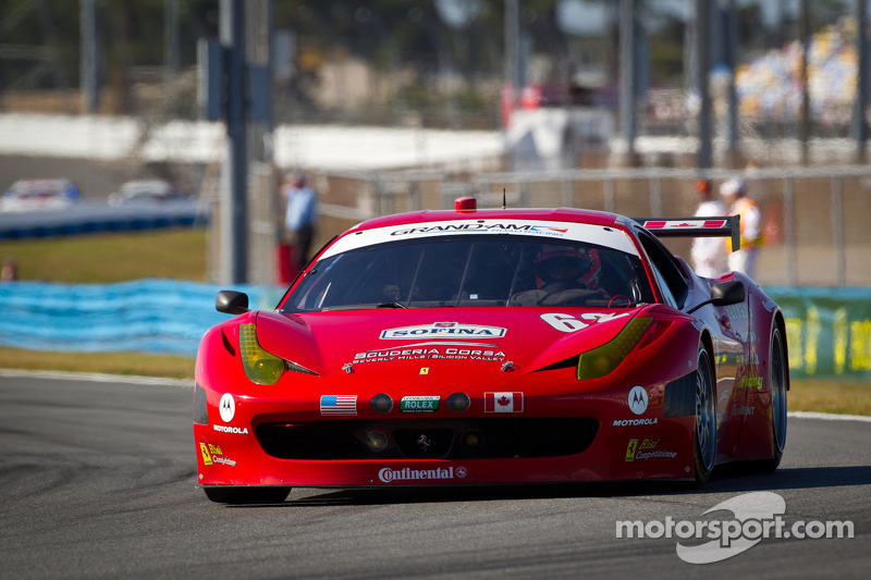 Ferrari Daytona 24H Friday report