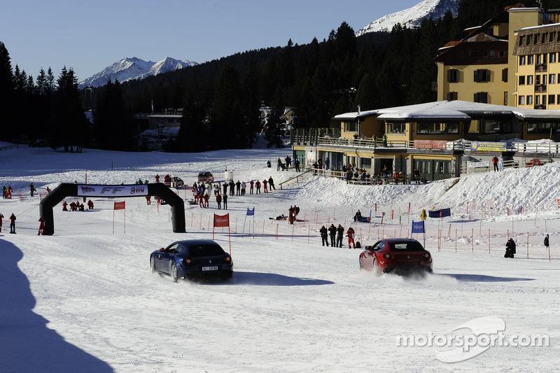 Snow to spoil 2012 Ferrari's track debut