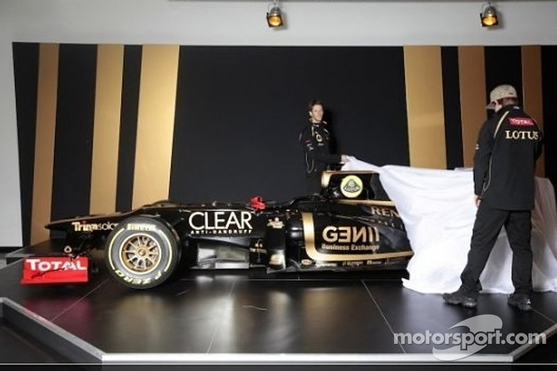 Lotus F1 Team unveils E20 and sets championship targets