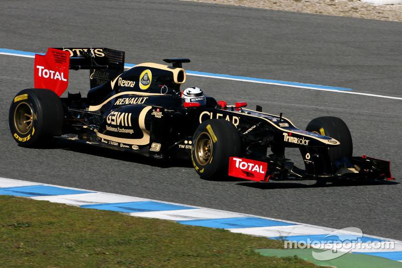 Renault still Lotus team sponsor - Caubet