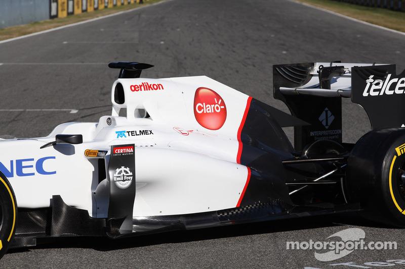 Sauber team launches C31 in Jerez