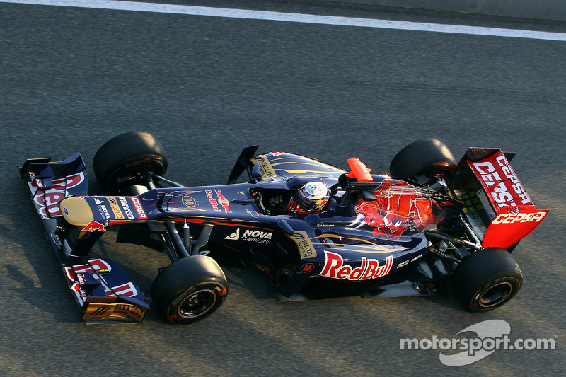 Toro Rosso Jerez test day 1 report