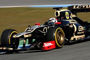 Formula 1 Lotus Jerez test day 2 report