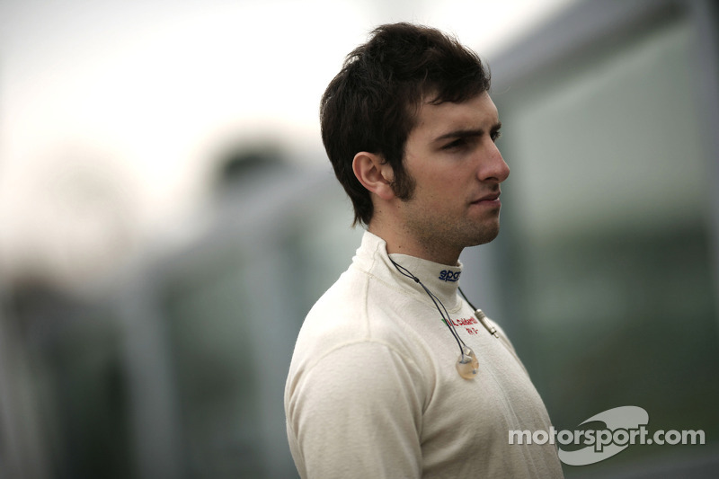 Andrea Caldarelli lines-up for 2012 SuperGT