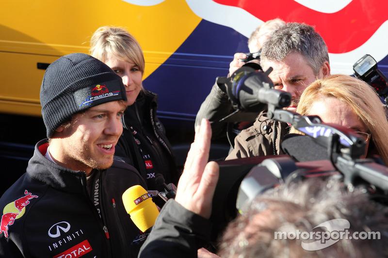 Red Bull Barcelona testing -  Day 1 report