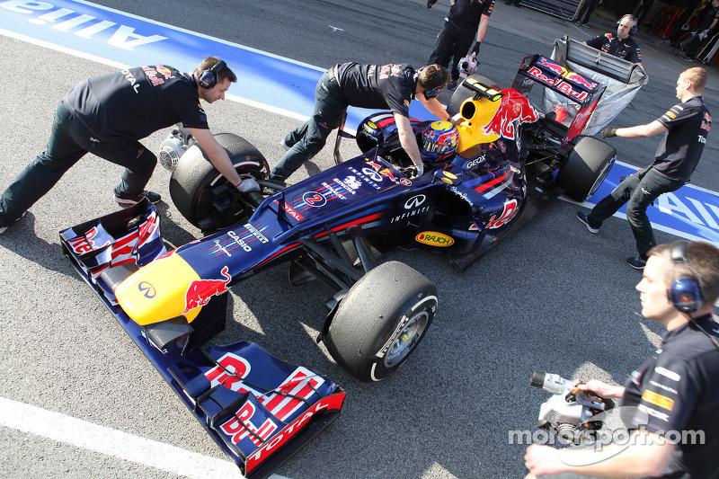 Red Bull Barcelona test II -  Day 1 report