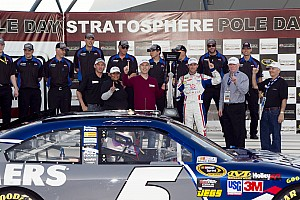 NASCAR Cup Blog: Kahne Gets the Pole in Record Time!!!