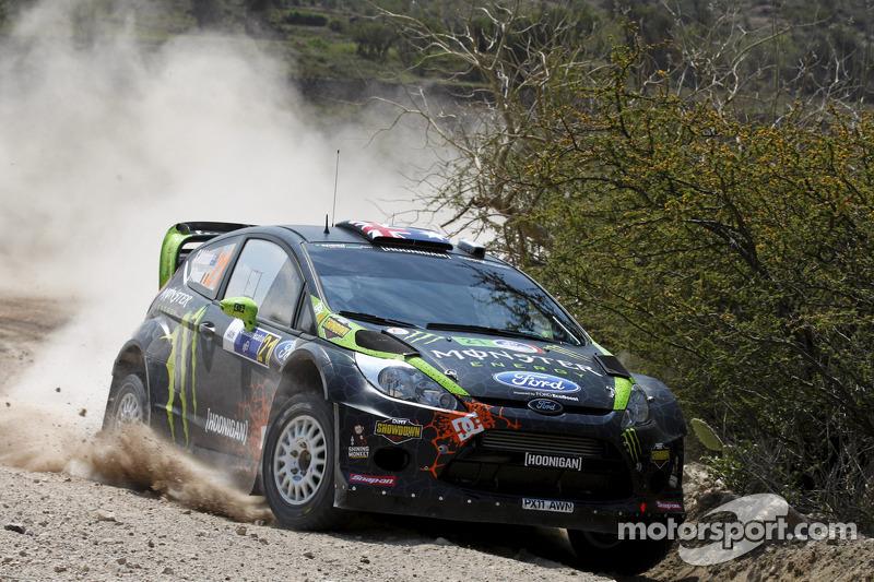 Chris Atkinson Rally Mexico leg 1 summary